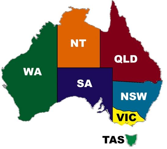 Map Of Australia For Students.Eureka Study Australia Education Agent Eurekastudy Why